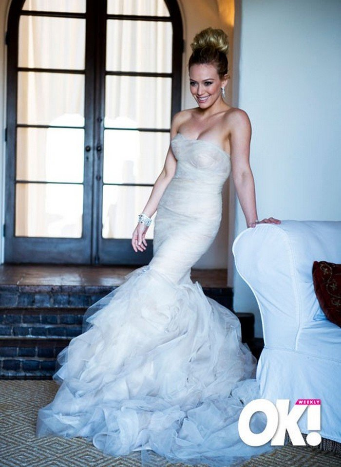 Vestido Hilary Duff y Mike Comrie