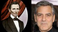 George Clooney y Abraham Lincoln