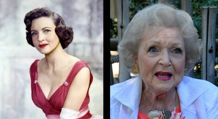 8 actores y actrices que fueron los más guapos y codiciados de Hollywood… 592d72250019f_1._betty_white
