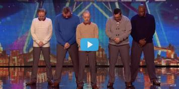 "Mira ""Old Men Grooving"" y su increíble actuación en Britain's Got Talent"