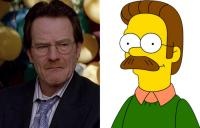 13. Walter White y Ned Flanders...
