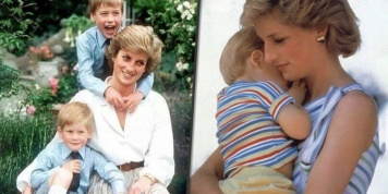 Los momentos más tiernos de Lady Diana con los príncipes Harry y William en fotos...