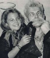 15. Drew Barrymore y Billy Idol...