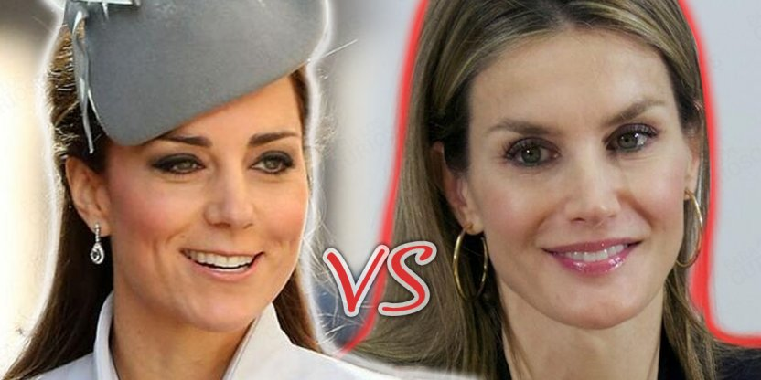 Duelo Real: Kate Middleton vs Letizia de España