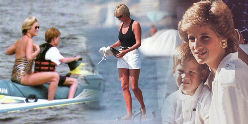 Un mes antes de morir: las últimas fotos de la princesa Diana con los príncipes William y Harry