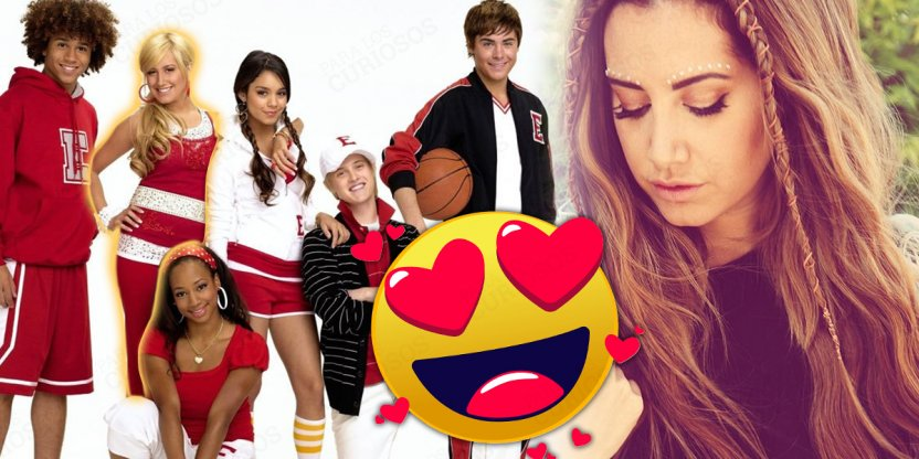 "Ashley, la protagonista de ""High School Musical"" creció y está divina"