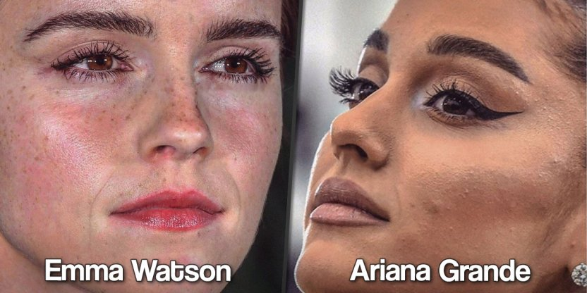 Celebrity touch up photoshop