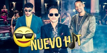 Will Smith, Marc Anthony y Bad Bunny juntos con un nuevo rap