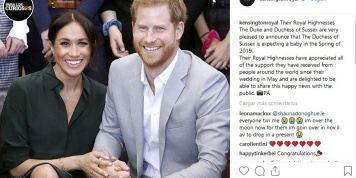 Meghan Markle y el Príncipe Harry confirman su embarazo