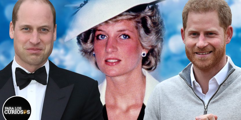 William y Harry son los fieles representantes del legado de Lady Di