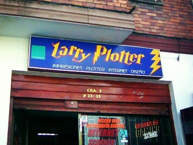 Impresiones Larry Plotter