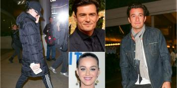 ¡Katy Perry y Orlando Bloom fingen que no se conocen!