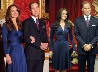 El príncipe William y la princesa Catherine de Inglaterra