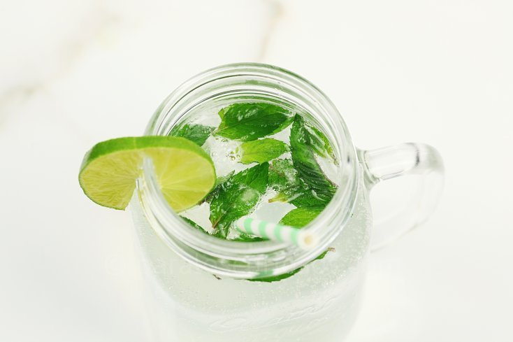 Ingredientes para refresco de mojito 5