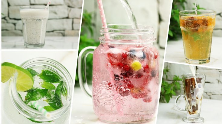 Ingredientes para refresco de mojito
