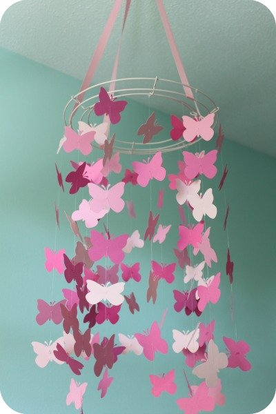 C mo hacer m viles de mariposas para los curiosos - How to decorate a mobile home decor ...