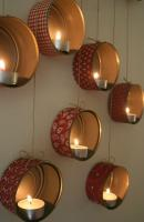 10 ideas para decorar tu hogar con velas tea light 8
