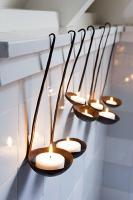 10 ideas para decorar tu hogar con velas tea light 10