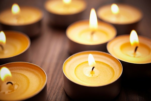 10 ideas para decorar tu hogar con velas tea light 1