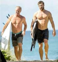 chris y craig hemsworth